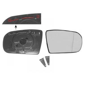 Miroir de rétroviseur droit Mercedes Classe E W210  08/1999 à 03/2002