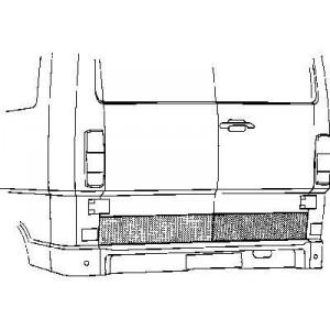 Panneau de porte de charge Arrière Mercedes 207D W601