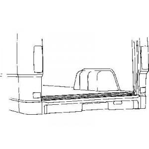 Bas de caisse Porte de charge Mercedes 207D W601