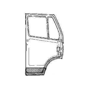 Panneau de porte intérieur gauche Mercedes 207D W601