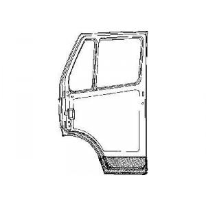 Panneau de porte intérieur droite Mercedes 207D W601