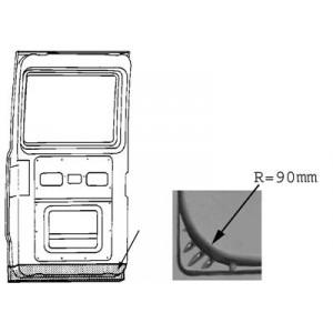 Panneau de porte Mercedes 207D W601 (Partie intérieur / 90mm)