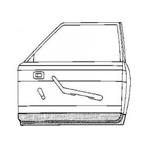 Panneau de porte intérieur droite Volkswagen Coccinelle