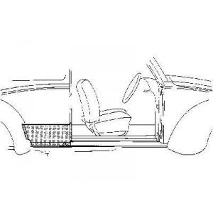 Tôle latérale Droite Volkswagen Coccinelle