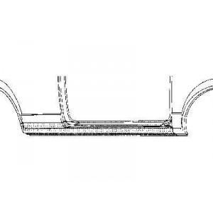 Bas de caisse Droit Volkswagen Golf I (5 portes)