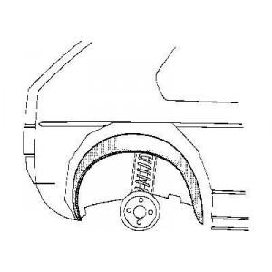 Arc d'aile intérieur Droit Volkswagen Jetta Type 17  (2/4 portes)