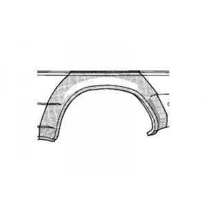 Arc d'aile arrière Gauche Volkswagen Vento