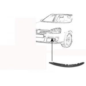 Moulure de pare choc avant gauche Volkswagen Jetta