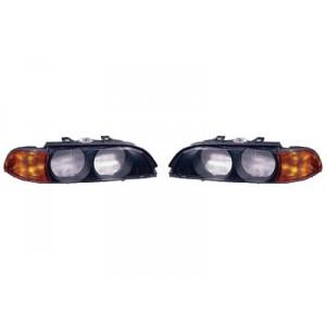 Verres de phare BMW Série 5 E39 Phase 1