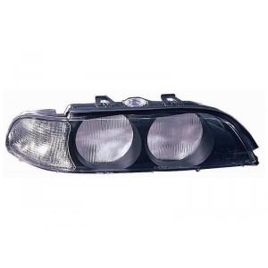 Verre de phare avant droit (clignotant blanc / phase 1) BMW Série 5 E39 04/1996 à 09/2000