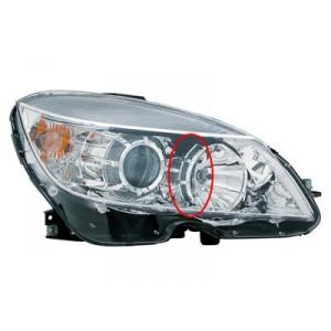 Phare avant droit Mercedes W204 Classe C (H7+H7 / marque AL) jusque 09/2007
