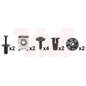 Kit de fixations aile avant Skoda Octavia 2004-2013