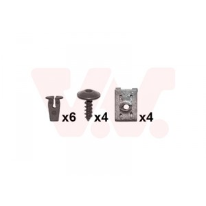 Kit de fixations aile avant VW Golf 5 GTI / GT 2004-2009