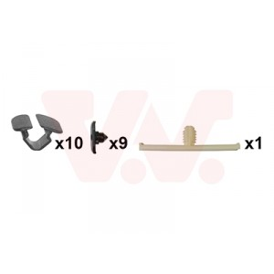 Kit de fixations capot avant VW Golf 5 GTI / GT 2004-2009
