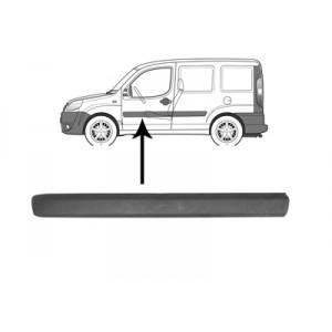 Moulure porte avant gauche Fiat Doblo 2006 - 2010
