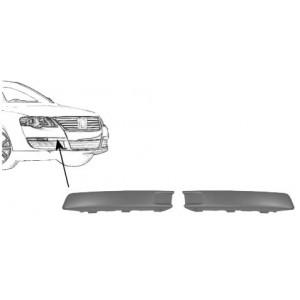 2 Moulures de pare chocs avant Volkswagen Passat (de 02/2005 à 11/2010)