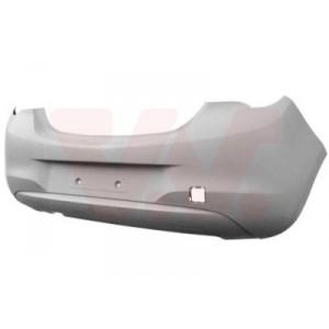 Bouclier arrière Opel Corsa E 2014+ (pièce de carrosserie à peindre)