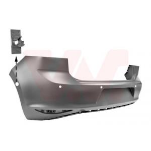 Bouclier arrière VW Golf 7 2012-2017 (phase 1 / avec trous pour aide au stationnement / pièce de carrosserie à peindre)