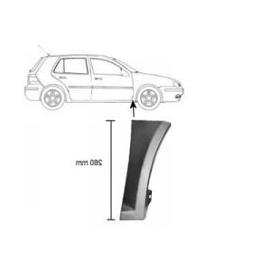 Partie inférieure Aile Avant droite Volkswagen Golf IV 08/1997 à 2003