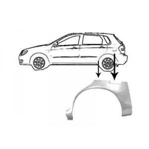 Passage de roue arrière gauche Kia Cerato 2004 - 2006