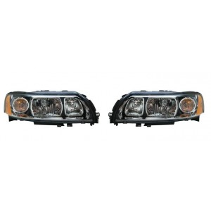 2 Phares avant Xenon (Valeo / D2R+H9) Volvo V70 2004 à 07/2007