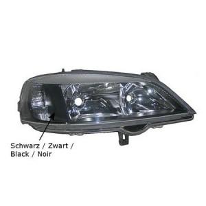 Optique de phare droit Opel Astra G Coupé / Cabriolet 1998-2004 (intérieur couleur noire)