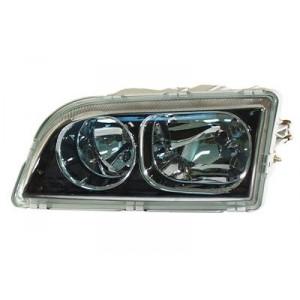 Optique gauche Volvo V40 / S40 2002-2003 - intérieur noir chromé