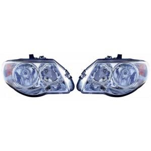 2 phares avant doubles (H7+H9) Chrysler Voyager 2004-2008