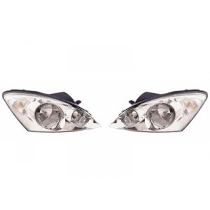 2 Phares avant Kia Ceed 2007-2009 H+H1 / chrome