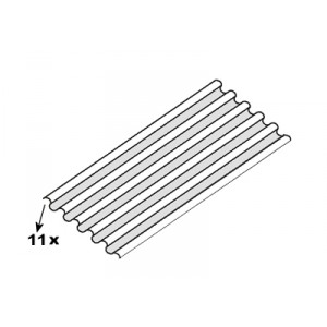 Plancher automobile ondulé : 1500 x 375 (mm) / 11 ondulations (plancher universel)