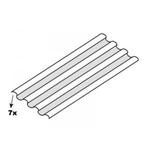 Plancher automobile ondulé : 1500 x 375 (mm) / 7 ondulations (plancher universel)