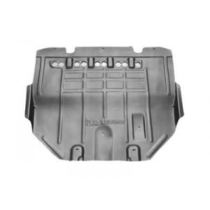 Protection sous moteur Peugeot 307 diesel 2000-2005 - partie arrière