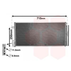 Radiateur climatisation Fiat Bravo essence / diesel 2007+