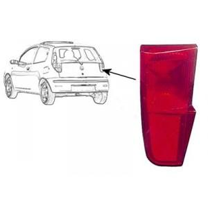 Réflecteur arrière droit pour hayon Fiat Punto 3 portes 2003-2012