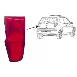Réflecteur arrière gauche pour hayon Fiat Punto 3 portes 2003-2012