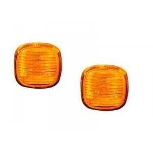 2 Repetiteurs clignotant (orange) Audi A3 1996 à 2000