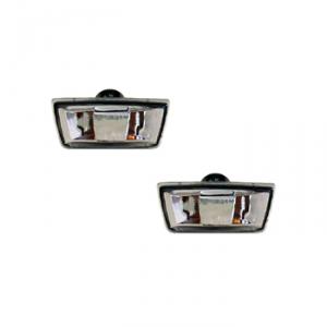 2 rappels de clignotants latéraux Opel Corsa D 2006-2015 (avec bords de couleur noir)