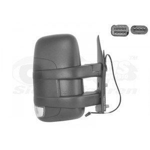 Rétroviseur extérieur droit électrique Iveco Daily 2006-2010 (avec bras court)