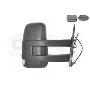 Rétroviseur extérieur droit électrique Iveco Daily 2006-2010 (avec bras long)