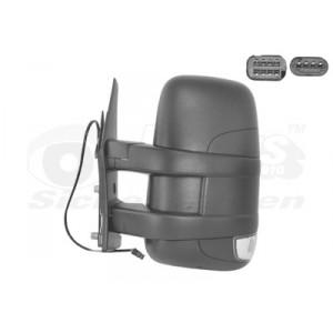 Rétroviseur extérieur gauche électrique Iveco Daily 2006-2010 (avec bras court)