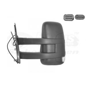 Rétroviseur extérieur gauche électrique Iveco Daily 2006-2010 (avec bras long)