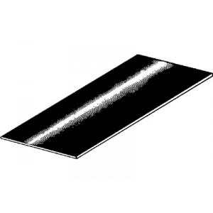 Tôle de réparation en acier huilé : 500 x 1500 x 0.8 (mm) (tôle universelle)