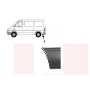 Tôle latérale arrière gauche Volkswagen LT (court / 26cm) 1996 - 2006
