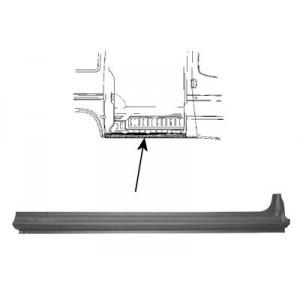 Tole latéral Ford Transit (empattement court)