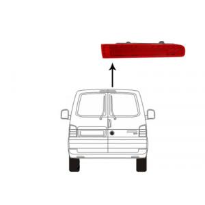 Feu de freinage droit VW Transporter T6 2015+ (phase 1 et phase 2 / avec 2 portes arrière)