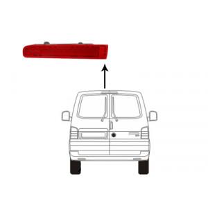 Feu de freinage gauche VW Transporter T6 2015+ (phase 1 et phase 2 / avec 2 portes arrière)