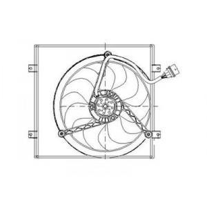 Ventilateur électrique (1,4 – 1,6) Volkswagen Polo