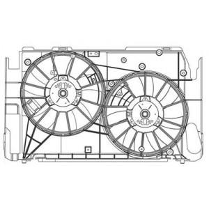 Ventilateur électrique Toyota RAV4