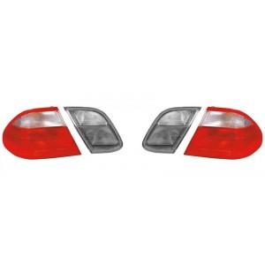 2 verres de feux arrière extérieur (ailes arrière) Mercedes CLK C208 (coupé, cabriolet) 1997-2002