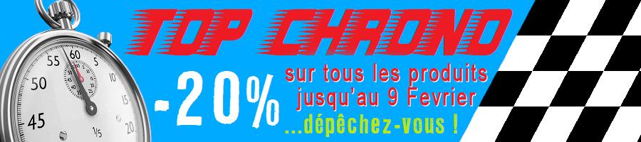 20% sur tout le site